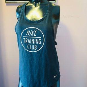 Nike black muscle tank
